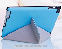 Top Selling 4 Shapes Stand Design Magnetic Leather Case for ipad 4 3 2 Smart Cover for iPad4 Utrathin Fashion Style colorful