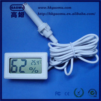 Wholesale OEM Mini Digital LCD Humidity Temperature antique pocket barometer