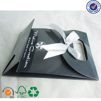 U color Custom mini ribbon tie gift bags