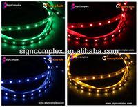 24V 60LEDs/M Epistar SMD 3528 RGB flexible led strip