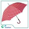 Ladies straight white dot party decoration umbrella