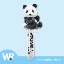 Cute panda figure twist mini ball pen
