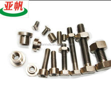 International standard size bolt and nut