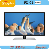 Cheap 32 inch Full HD high quality wholesale sale lcd tv with satellite receiver