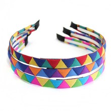 Fashion handmade rainbow for women primark hair accessories