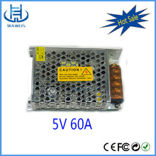 Output 5v 60a constant current led power supply for lighting the night
