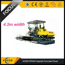 Chinese paver machine 4.2m XCMG Asphalt concrete Paver RP403