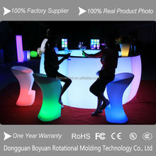 inflatable modern chrome nightclub led bar chairs