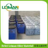 Two compoent PU chemical contact adhesive for filter /air filter gule