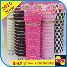 Wonderful cylindrical decorative crystal for crystal craft
