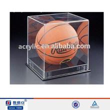 clear acrylic basketball display ,basketball display,customized acrylic display box