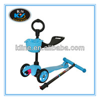 High Quality 3 in 1 Micro Mini Kick Scooter with PU wheels