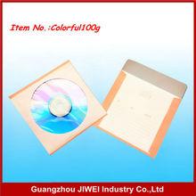 Billige farbe papier cd-hülle