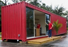 china modified container house