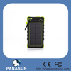 2015 new product high capacity Hot 10000mAh solar powered phone charger