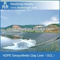 hdpe forro de estanque Forro de Arcilla geotécnica (GCL) Bentonita
