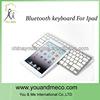 Ultrathin Metal Aluminum Wireless Bluetooth Keyboard Cover Case For iPad