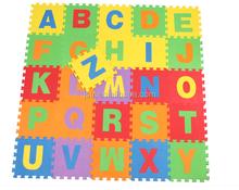 36pcs Kids Baby Number Alphabet Interlocking EVA Foam Floor Puzzle Play Mat