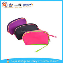 Hot selling popular practical colorful polyester storage bag for cosmetic sunglasses and coin
