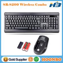 Trade Assurance Ce Rohs Slim Keyboard 2.4G Wireless Keyboard And Mouse Combo