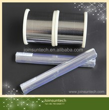 Low yield strength 60Sn40Pb solar cell tabbing wire/ tinned copper wire for solar module manufacturing made in china