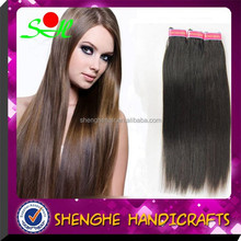 factory price silh straight remy model model hair extension wholesale