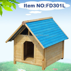 New Eco-friendly wooden dog kennel /dog grooming products