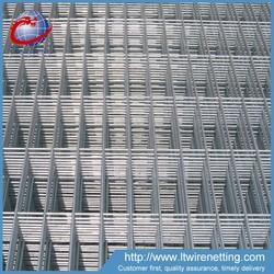 Anping Longteng 7x20cm galvanized metal fence panels / cheap fence panels