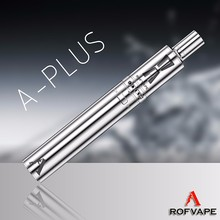 Alibaba new products A Plus 4.2V vapor cigarette uk ego wholesale pipe kit from Rofvape shenzhen