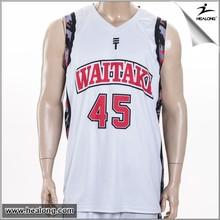 reversible custom basketball uniforms set/basketball shirt, high quality sublimation basketball jersey/singlets