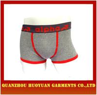 Sexy Young Mens Underwear Man Thick Cotton Boxer Underwear