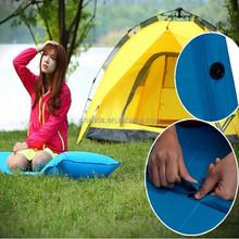 outdoor camping Single Sleeping Mat Mattress Pad with Pillow