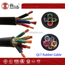 low voltage rubber cable with competitive price, power cable