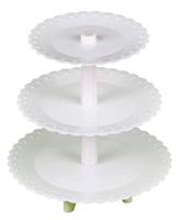 3-layer wedding cake stand