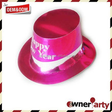 Happy New Year Beautiful Lady Party Paper Hats