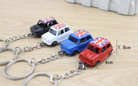 England taxi model mini keychain hot sale London souvenir key gift holders for shopping