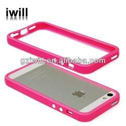 New arrival TPU bumper,mobile phone case for iphone 5 5s