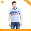 Contrast Neck Oversea Custom Print T Shirt