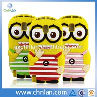 Despicable Me Minion silicon 3d cell phone case for iphone and samsung