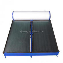 2015 New Fashionable style 200L pressurized flat plate solar water heater for overseas market