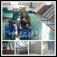 Fully automatic ceiling panel making machine,Galvanized/Iron Steel Ceiling C Channel Roll Forming Machine