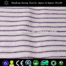 beautiful chinese hospital textile cotton fabric sateen stripe bedding fabric