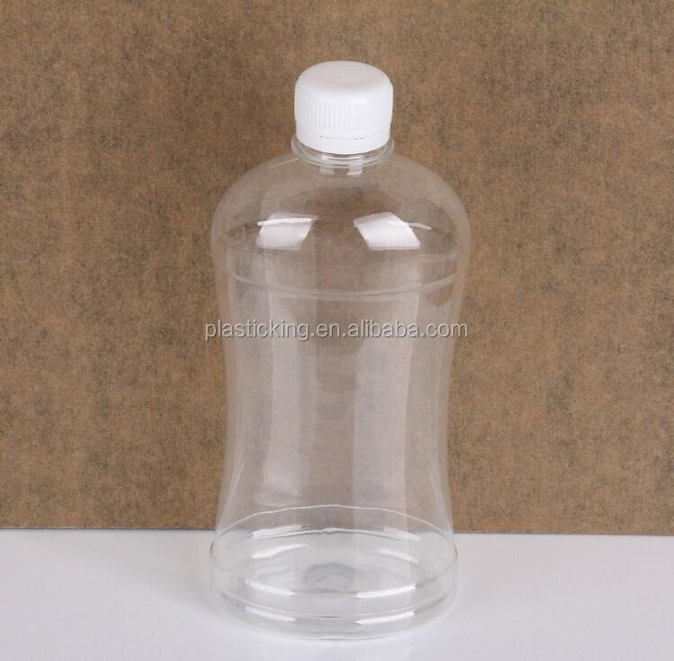Unique shape 500ml pet mineral water bottle pet juice for Unique plastic bottles