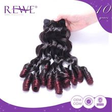Price Cutting Clean And Soft Human Porch Italian Black And Red Ombre Hair
