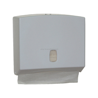 towel holder liquid soap hygiene plastic sensor touchless auto jumbo roll bathroom accessories wastebin M-fold Paper Dispenser