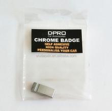 3D car chrome badge emblem