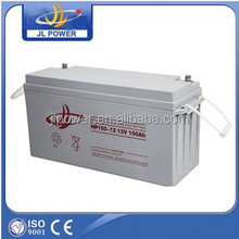 rechargeable deep cycle battery solar, gel vrla battery manufucturer 12Volt 150ah
