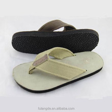 Comfortable fabric uppers leather+EVA sole ,men sandals shoes