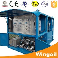 hydrostatic pressure test pumps water equipment for api drill pipe/drilling rig