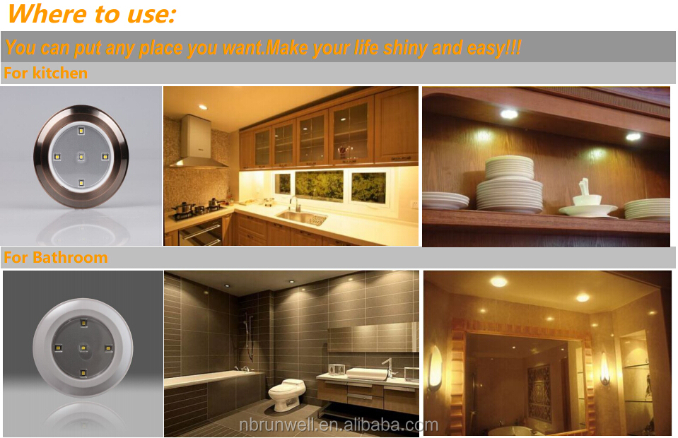 Homemates led wireless under cabinet led lights with remote 6 pk where to use 1g aloadofball Choice Image